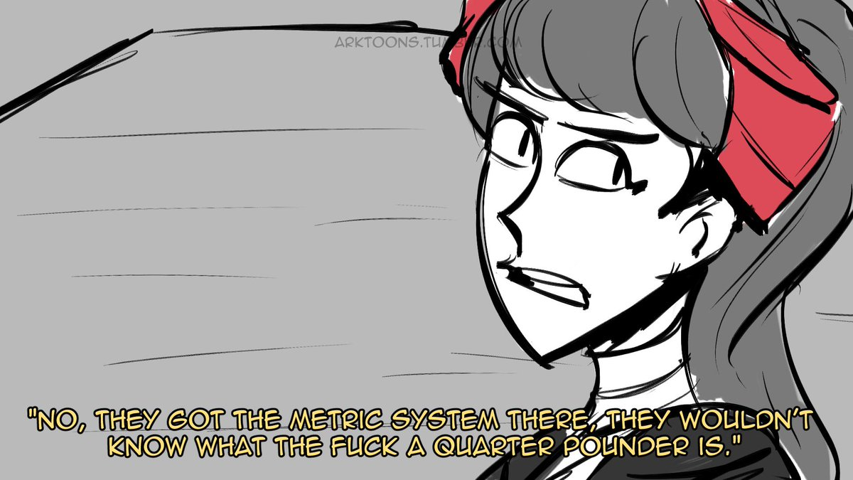 This joke has already been said but might as well board it #Persona5 #persona5royal   Support me on Patreon- https://www. patreon.com/arktoons  &nbsp;  <br>http://pic.twitter.com/fzdcuEka6Q