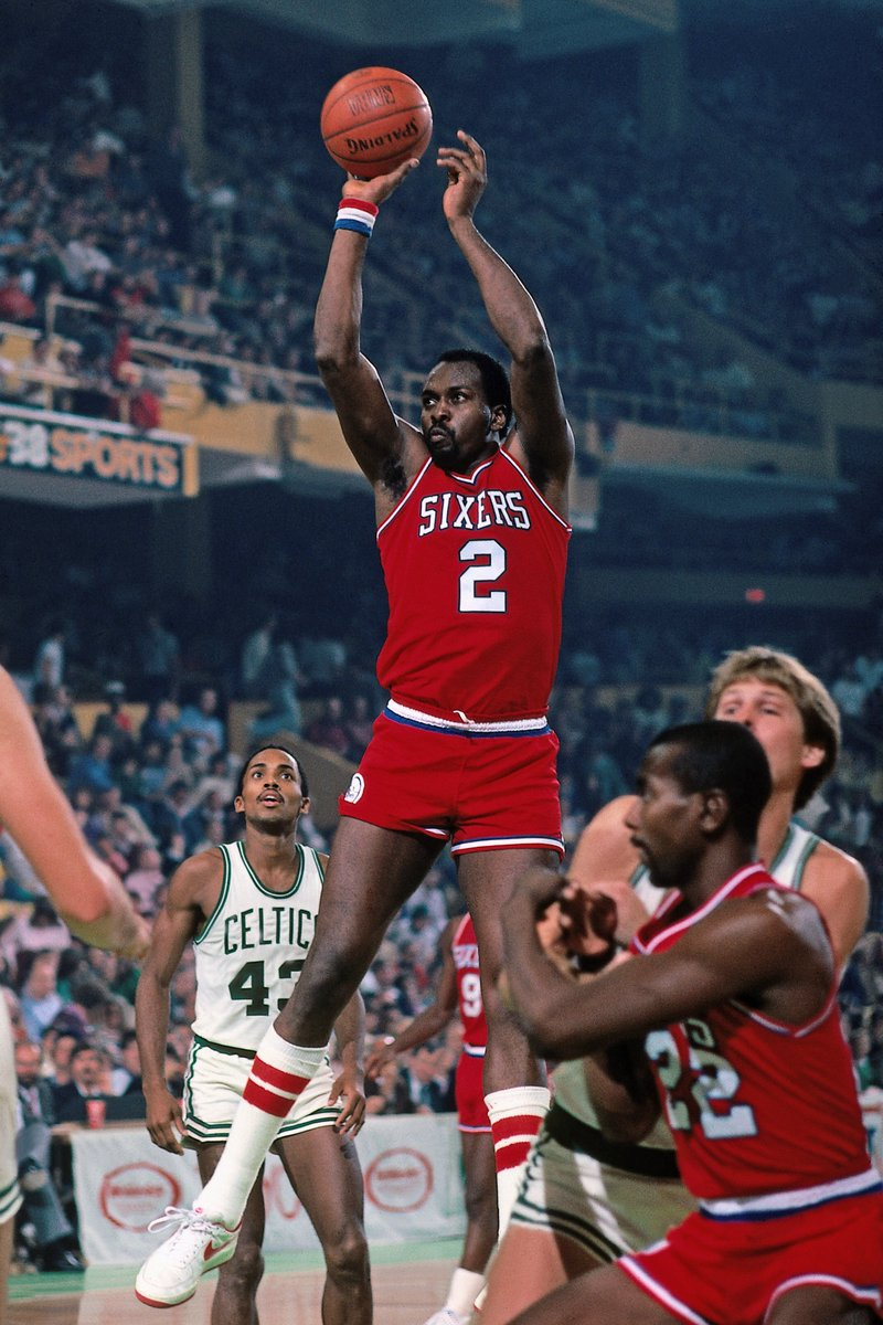 On his birthday, we remember 12x #NBAAllStar, 3x #NBA MVP & '83 NBA champion Moses Malone (1955-2015).