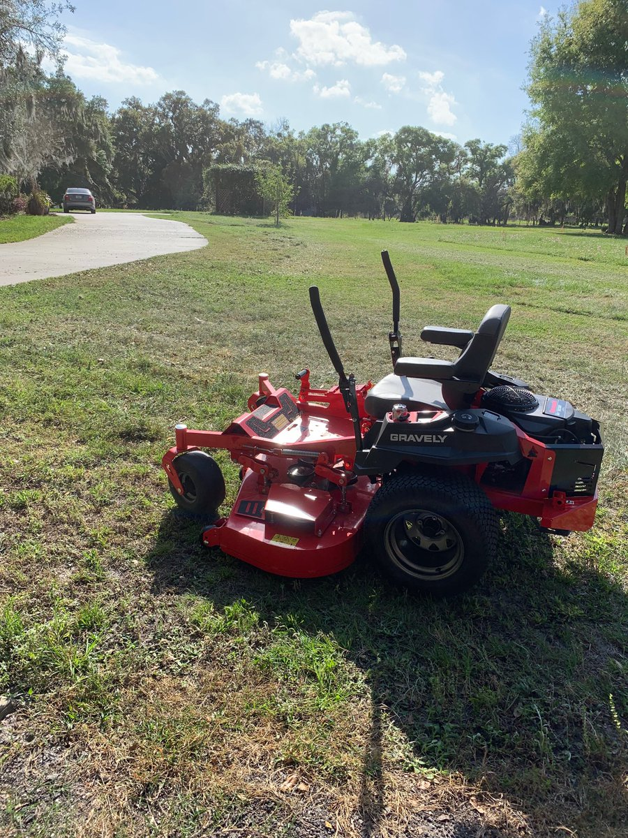 @adamcarolla we just bought a few acres so I got a 60in mower to cut it myself. So much fun and satisfying. Doing things yourself is so rewarding! Keep preaching that.