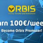 Image for the Tweet beginning: 🔰 Join Orbis Promoter Program