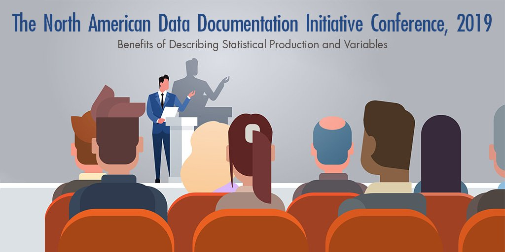 This April, we will be hosting the North American Data Documentation Initiative Conference. An opportunity for #MetaData users to come together and learn from each other. Join us on April 25-26: http://ow.ly/QRs930o9BTO #NADDIConf