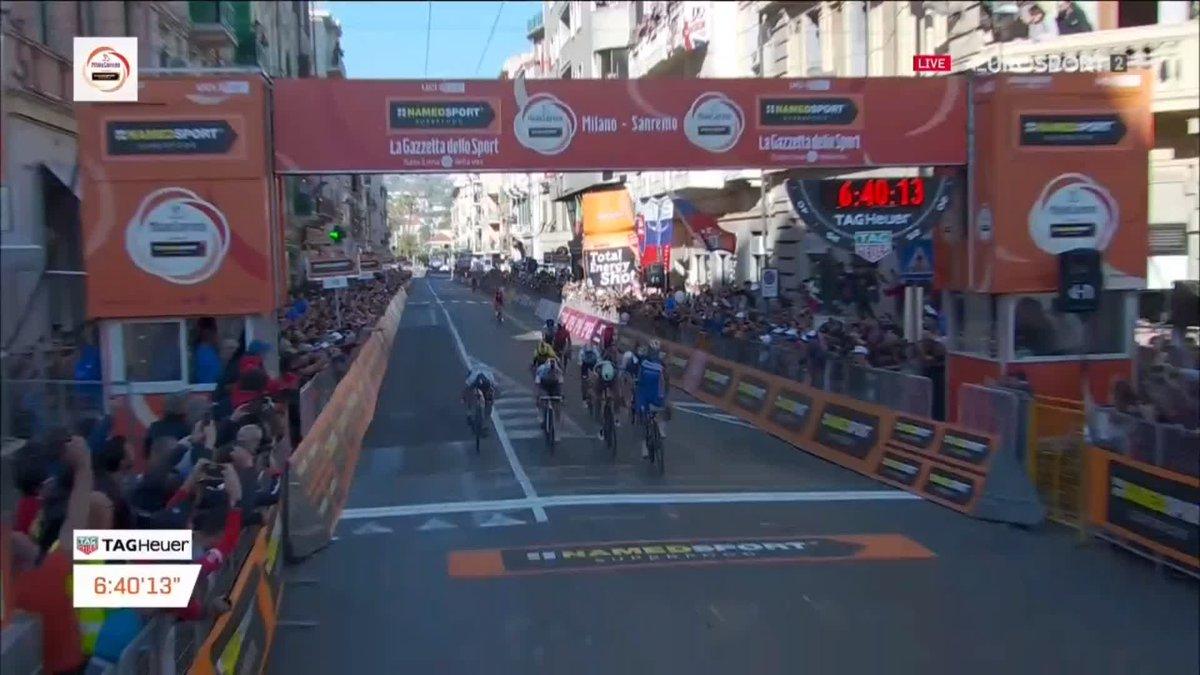 Julian Alaphilippe wint Milaan-San Remo 2019