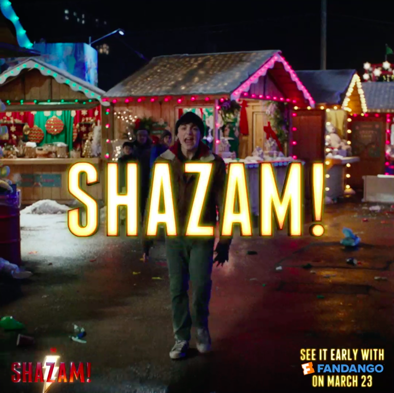 Shazam! Movie's photo on #Shazam