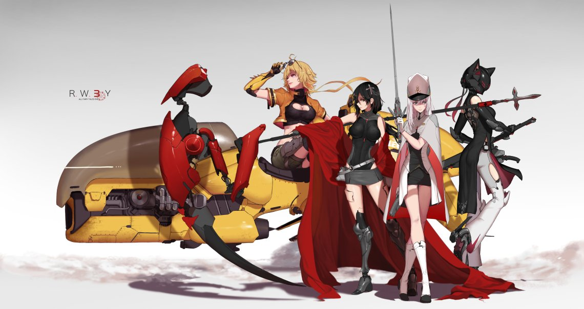 Tho oldies #RWBY 3.0   HD files for the team shot below are available for the 10$Tier on my Patreon :  https://www. patreon.com/Dishwasher1910  &nbsp;  <br>http://pic.twitter.com/p8ztmPJNPU