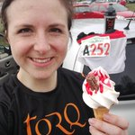 Run a race, have an ice cream.Midland Road Relays done for the mighty @OOlympians, bringing us home 4th on the first leg.#TORQFuelled #icecreamrecovery#ukrunchat