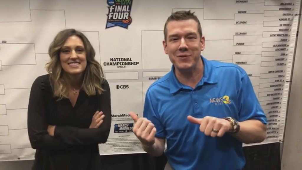 Thanks to ESPN's @AllisonW_Sports for joining us live on the @WTKR3 Facebook page to talk @theACC hoops, #Zion, #Wahoowa, #MarchMadness & motherhood!  http://Facebook.com/WTKR3