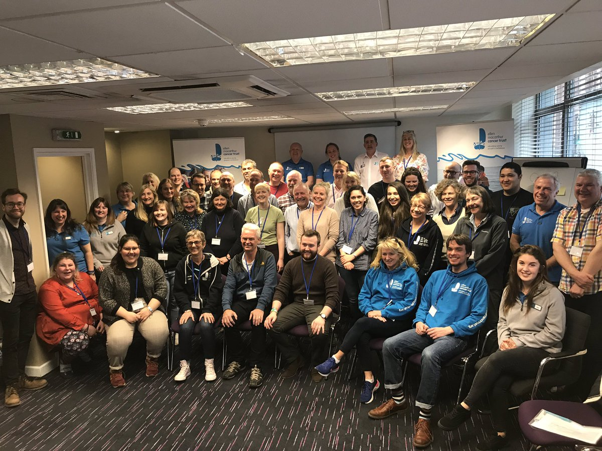 A huge THANK YOU to the incredible volunteers that came along to our Glasgow Training Day, young people simply wouldn't be able to rebuild their #ConfidenceafterCancer with out you! 💙 #TrustTribe