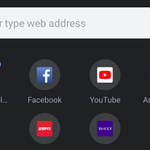 Image for the Tweet beginning: [Update: Now in Beta] Chrome