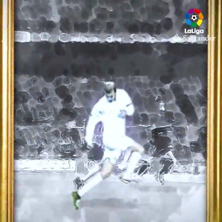 Zidane pura arte! 🎨