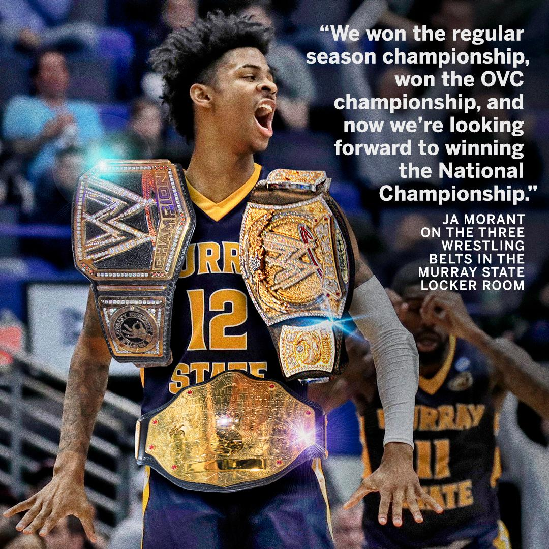 According to Ja Morant, 12-seed Murray State is just getting started �� https://t.co/uNdhQfLuLx