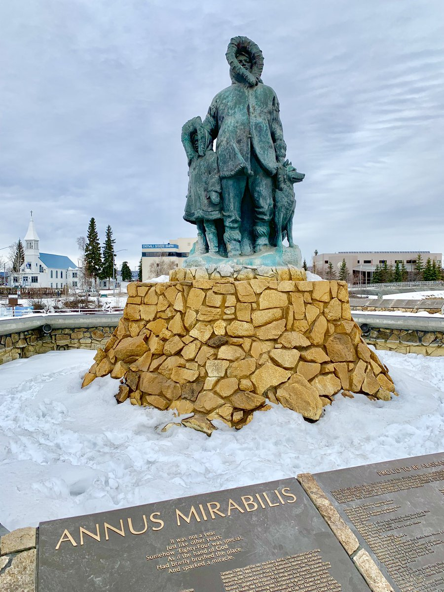 #UnknownFirstFamily @ Golden Heart Plaza | http://alaska.org @AlaskaTravel #alaska #travel http://www.alaska.org/detail/golden-heart-plaza…  #Fairbanks #フェアバンクス