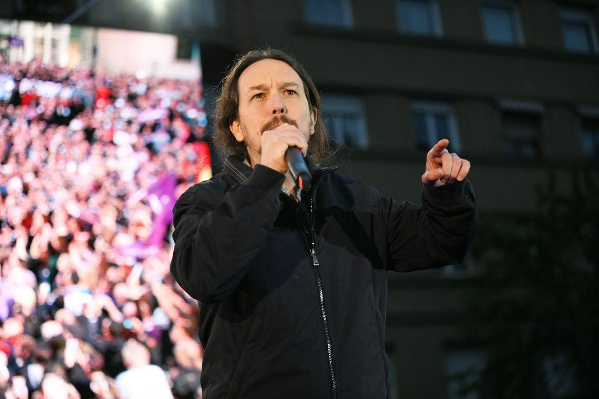 PODEMOS's photo on Pablo Iglesias