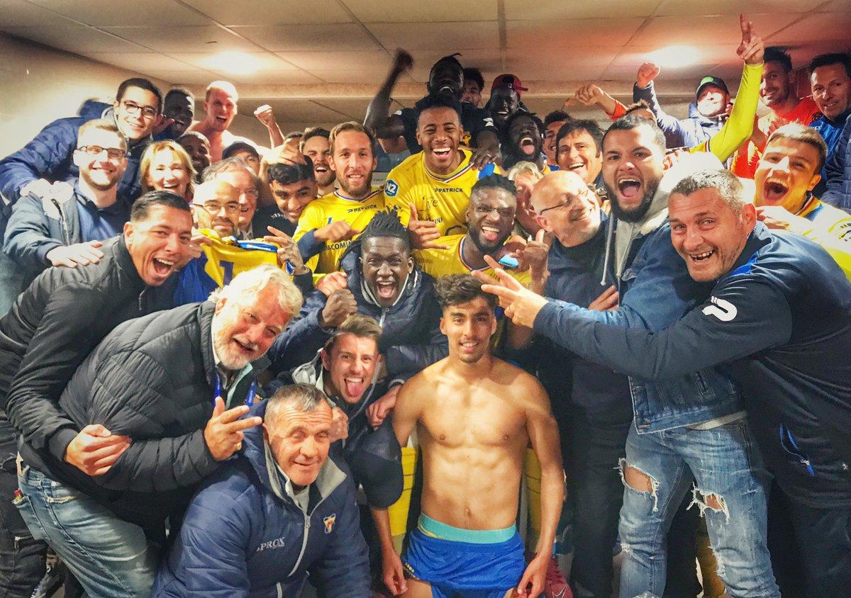 RT @sportingtoulon: Ils sont là les guerriers du @sportingtoulon  Victorieux de @RCGofficiel 2-1  #national2 #toulon https://t.co/IDQhIRfJoJ