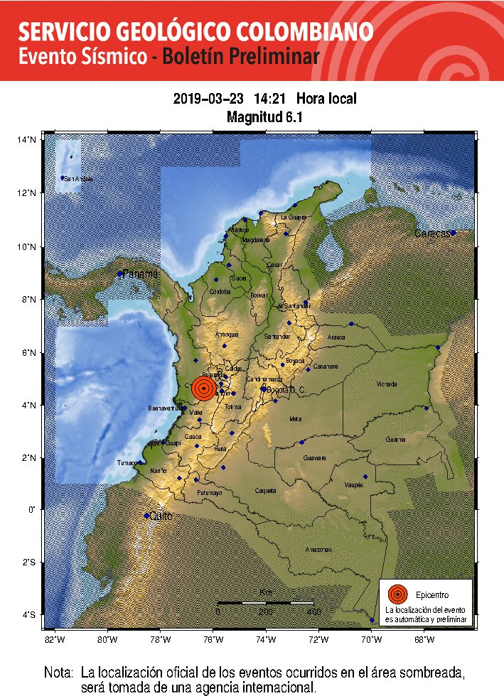 Servicio Geológico's photo on #temblor