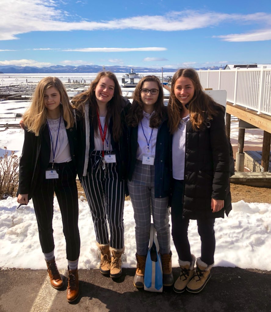 These powerful, independent, best-dressed individuals crushed it today at the first annual #AcademicWorldquest competition in VT! They eeked out a second place finish (just ONE point)! Thank you @WACAmerica @DinseLaw @UVMMedCenter @PeoplesUnited @SocialSbhs @pburkevt