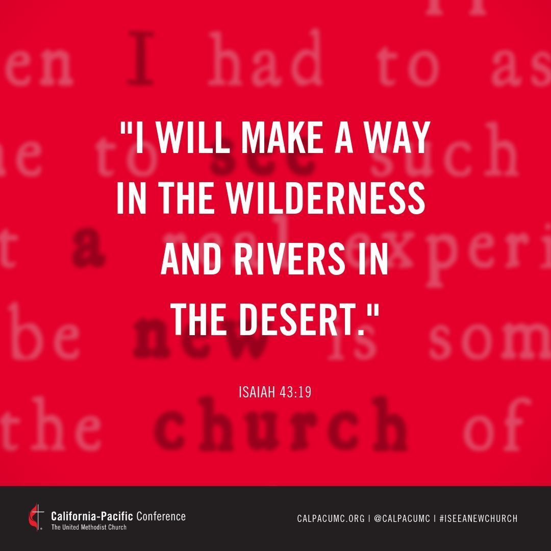What has helped you discern your path ahead in critical life moments? . . #iseeanewchurch #onechurch4all #umcgc #gc2019