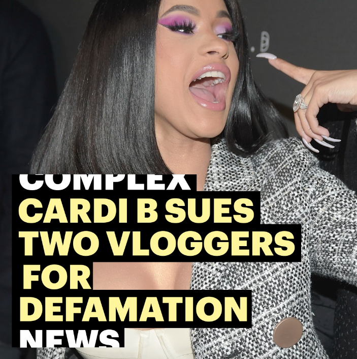 Cardi B is fed up.  #ComplexNews