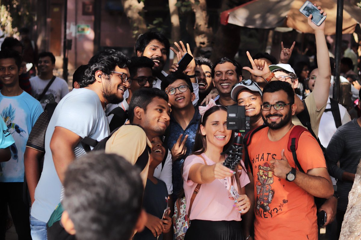 Thank you Mumbai for a wild Community Day! We had so much fun meeting you all and playing together!  Special thanks to Pokémon GO Mumbai League and the Mashable India team for all your help and love too! #PokemonGOCommunityDay <br>http://pic.twitter.com/gganIS8Wht