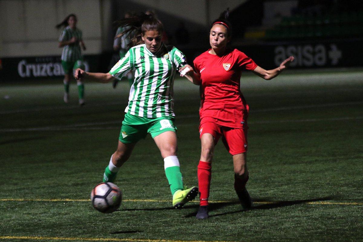 CANTERA | ¡El #BetisFéminas vence 1-0 al @SevillaFC_Fem y se hace con el derbi de filiales! 🙌🏼💚  Gran victoria que deja casi sentenciada la liga a falta de cinco jornadas 📈🔝  #SigamosCreciendo