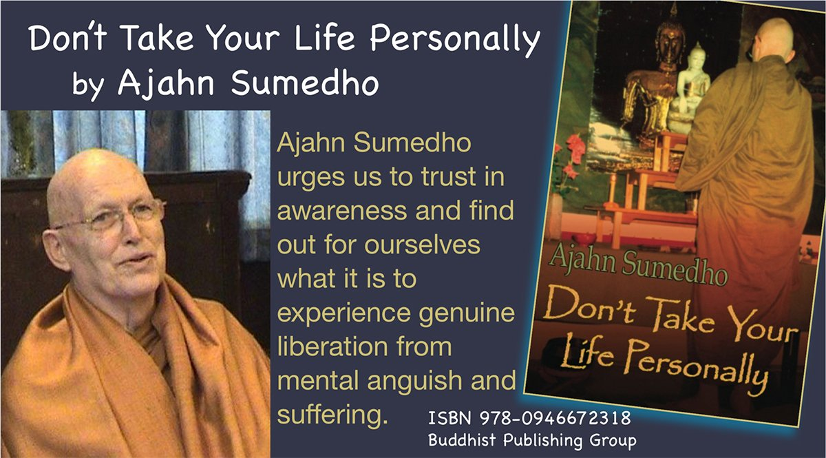 Review for 'Don't Take Your Life Personally'. Ajahn Sumedho
