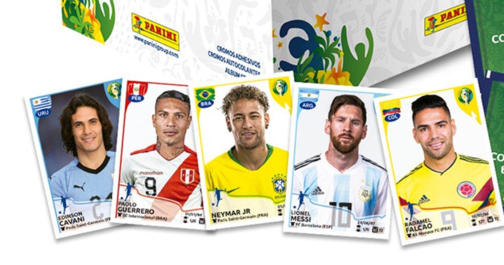 Neymar, Messi, Cavani... Veja figurinhas do álbum da Copa América https://t.co/ljOBvNA0MO https://t.co/8894pQiKcn