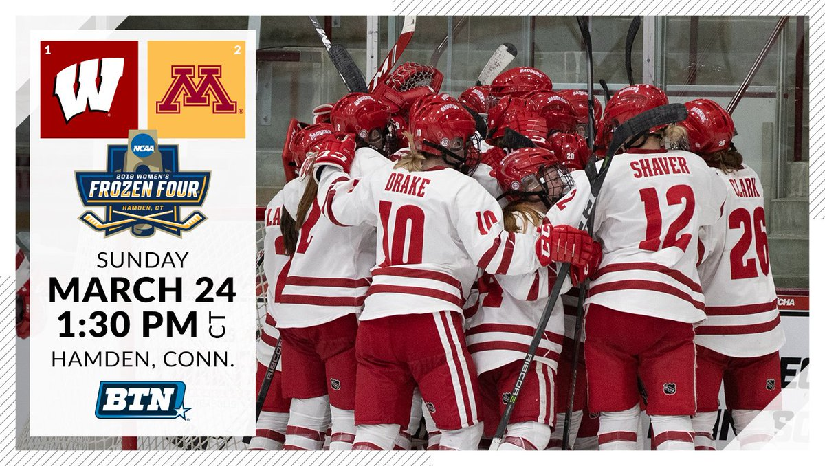 Good night, #Badgers fans. Tomorrow will be a great day for hockey!