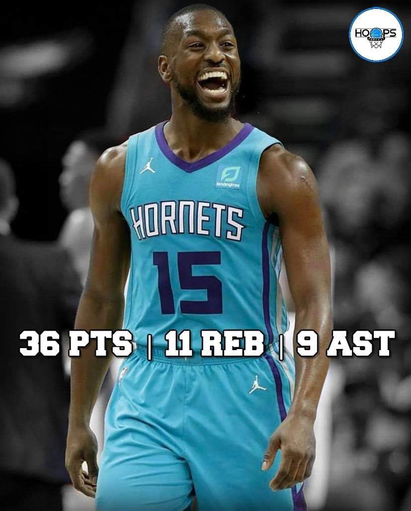 🏀 COMEBACK KEMBA 🏀  @KembaWalker balls out for 36p | 11r | 9a | 2s to lead the comeback and get the 124-117 win over the Celtics.  The @hornets outscored the @celtics 35-19 in the 4th.  #kembawalker #hornets #celtics #basketball #ballislife #nike #like #follow #nba #sports
