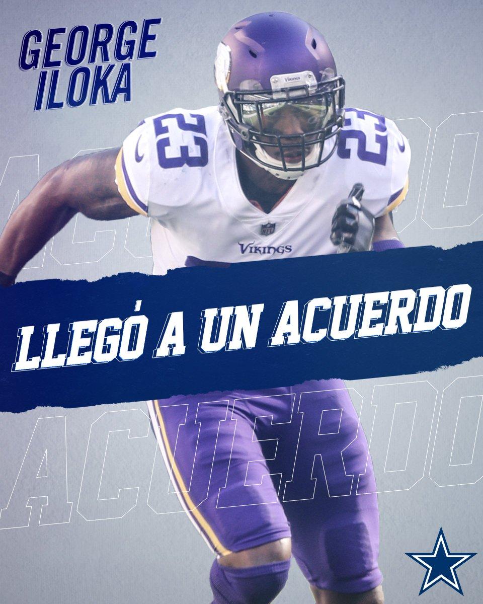 Los Cowboys llegaron a un acuerdo con el safety George Iloka.