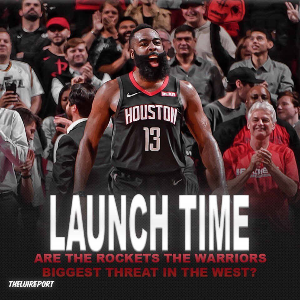💭 Are the Houston Rockets the biggest threat to the Warriors? They have owned the Warriors in the regular season, they can do in the playoffs? #nba #houston #rockets #houstonrockets #jamesharden #nbaplayoffs #sports #news