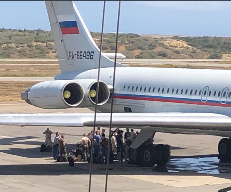 Прилетели в Венесуэлу
