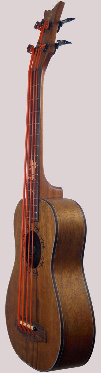 Ortega lizard baritone ukulele scale Bass