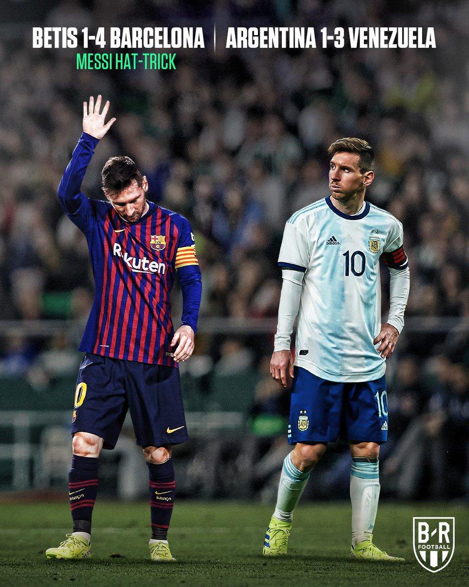 ⚠️ La doble versión de Leo Messi 🤔 ¿A qué se debe este cambio? 📸 @brfootball