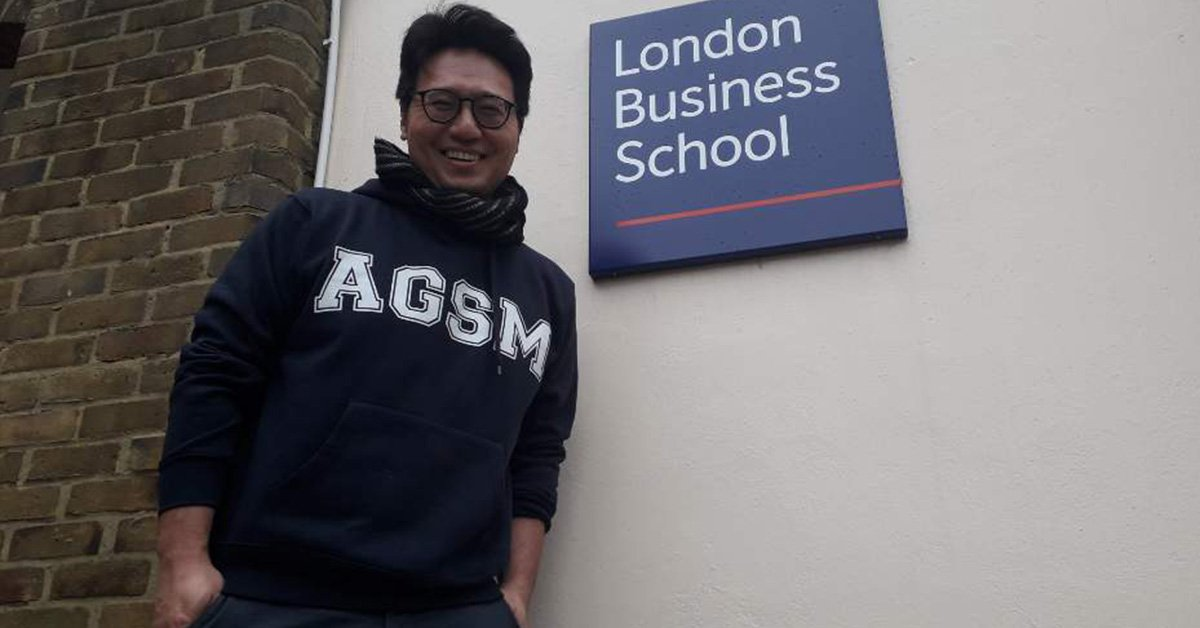 "Woo Kim, Co-President of AGSM MBA 2019 class, chose London Business School for his exchange semester: ""It's been an absolute pleasure to be on exchange at LBS for the past 2 months. Courses have been interesting and dynamic with a focus on experiential learning."""