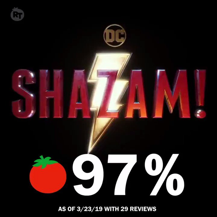 Rotten Tomatoes's photo on #Shazam