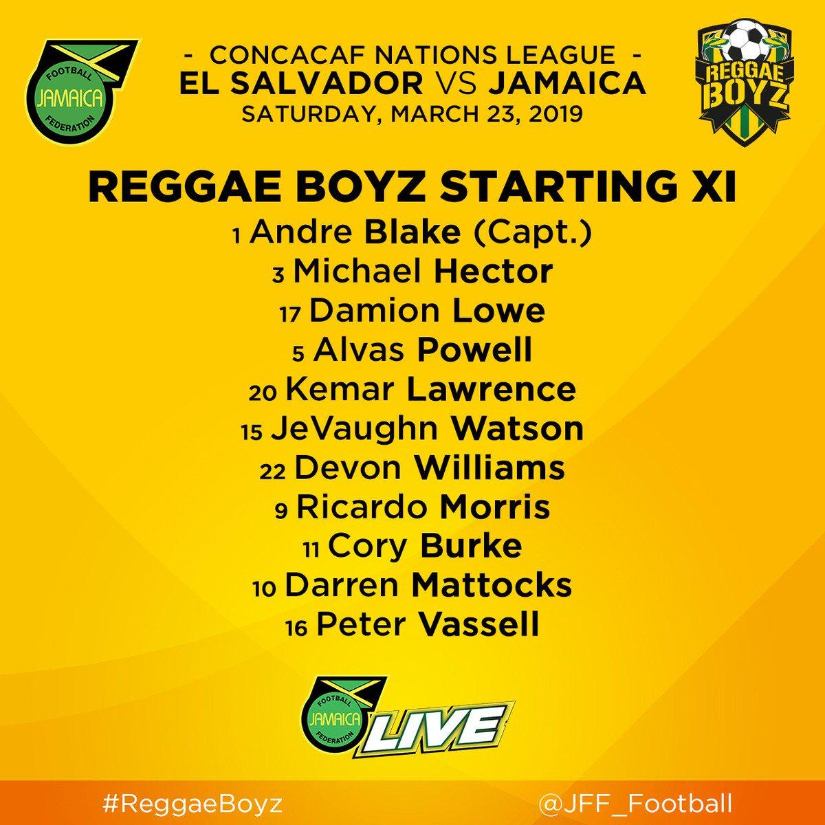 Liga de Naciones CONCACAF y Eliminatorias a Copa Oro 2019 [23 de marzo del 2019 - Jamaica] D2YQEvKXQAEwewB