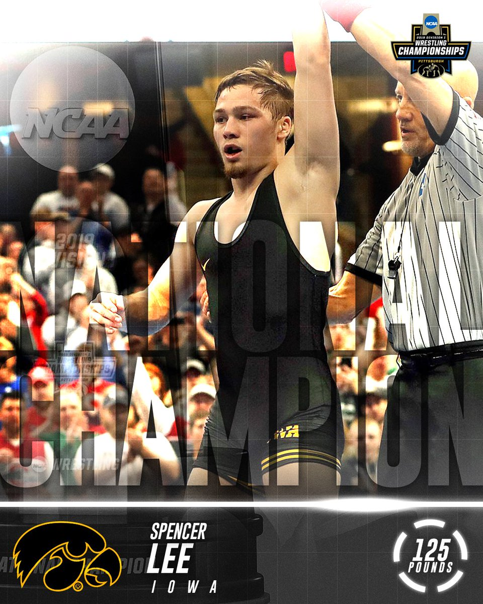 NCAA Wrestling's photo on Spencer Lee