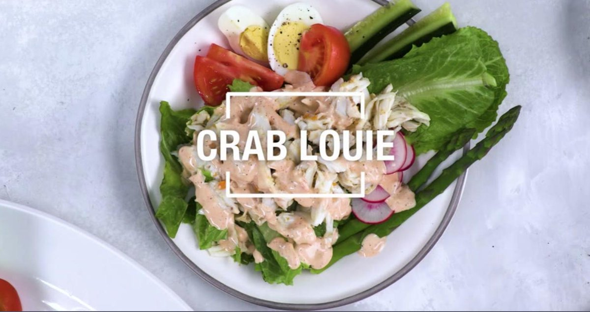 Image for the Tweet beginning: Ever tried Crab Louie?