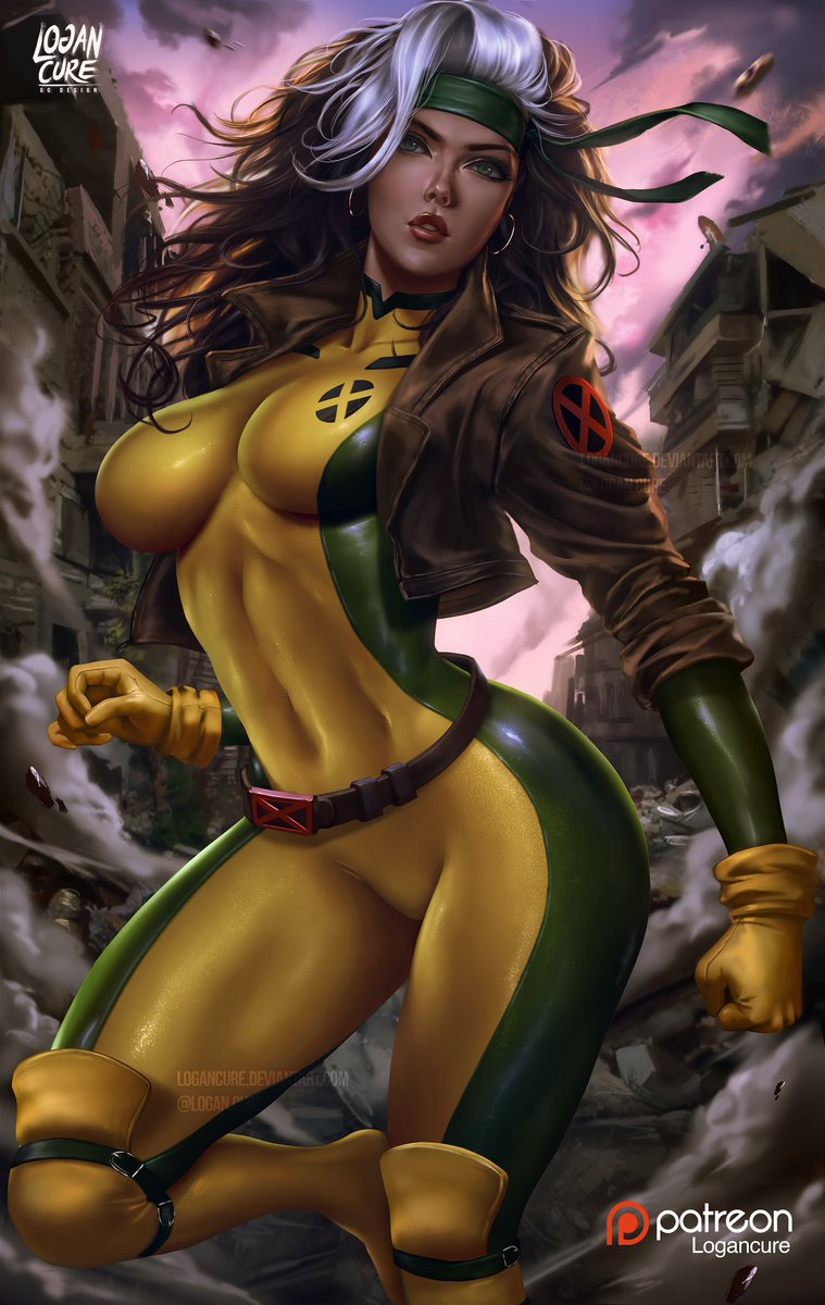 #90s #Rogue #xmen now on my #patreon!!  https://www. patreon.com/posts/rogue-x- men-25583726 &nbsp; …   High-Res 3+ NSFW Nude 5+ Used brushes 7+ Raw Psd file 7+ NSFW variants 7+ Video Process 10+  previous artworks on  #gumroad  https:// gumroad.com/logancure  &nbsp;           #marvelcomics #digitalart<br>http://pic.twitter.com/lR98PUNerF