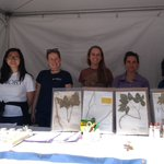 So proud of this awesome group of ⁦@EmoryHerbarium⁩ ⁦@emorycollege⁩ students! They met hundreds (if not thousands) of people today while sharing their enthusiasm for #plants and #botany research in our booth at ⁦@ATLSciFest⁩ Expo! #herbaria #scicomm #WomenInSTEM