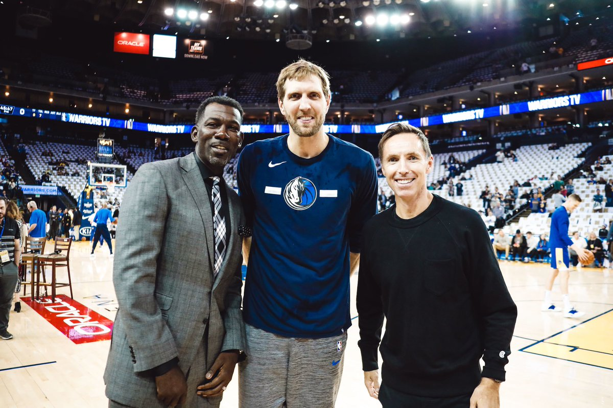 Dirk, Finley & Nash!!!!! #MFFL