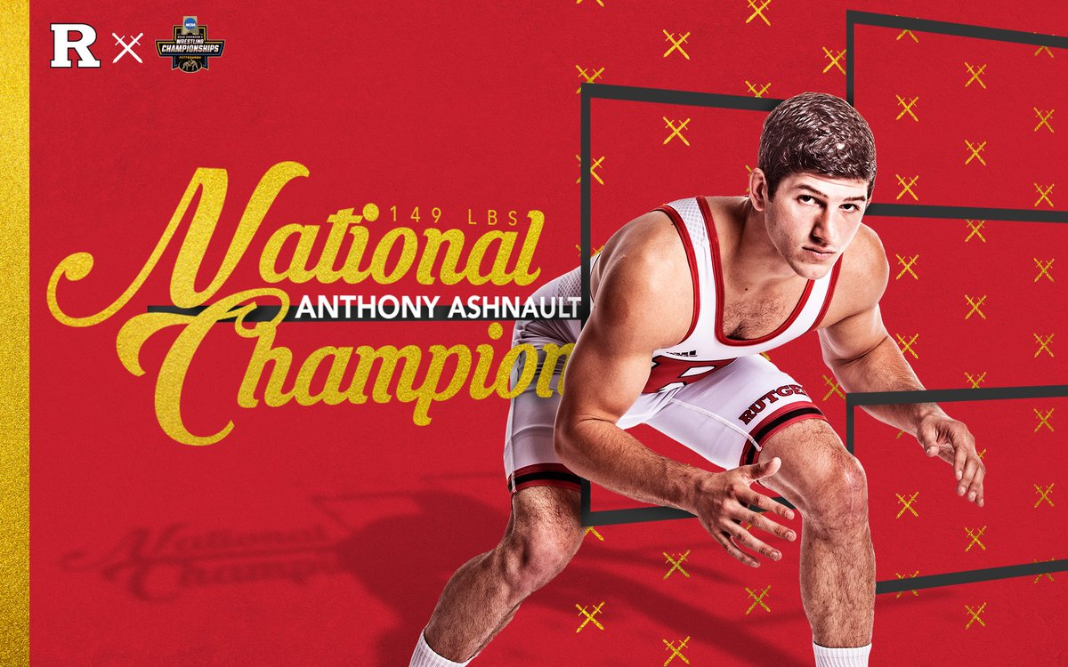 Rutgers Wrestling's photo on Anthony Ashnault