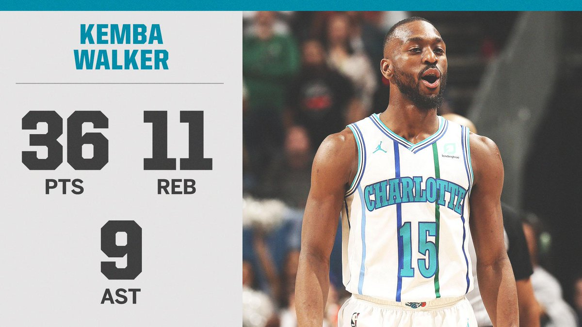 """Just call Kemba """"Mr. March"""" 👏"""
