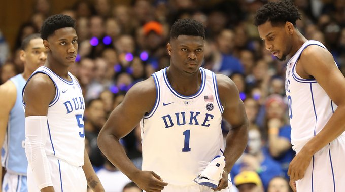 Like Bo Jackson at Auburn or Herschel Walker at Georgia, we should appreciate Zion at Duke http://go.si.com/rQhshLw
