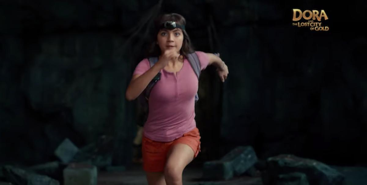Check out the trailer for the live-action 'Dora the Explorer' film. https://trib.al/BIwJHqB