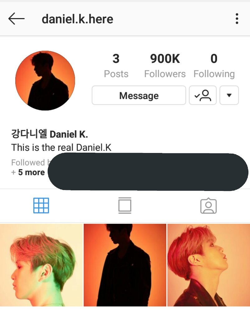 900,000 Instagram Followers     To new Fans, follow his personal IG account here :  https:// instagram.com/daniel.k.here? utm_source=ig_profile_share&amp;igshid=nr20h3w1ckyj &nbsp; …   #KangDaniel #강다니엘 #ForeverWithDaniel<br>http://pic.twitter.com/De7vSt9rga