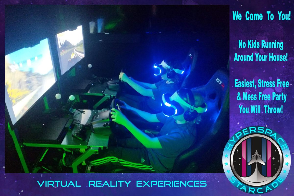Best Birthday Party Idea Ever No Mess In Your House Let Us Entertain Guests HyperSpaceStarcade