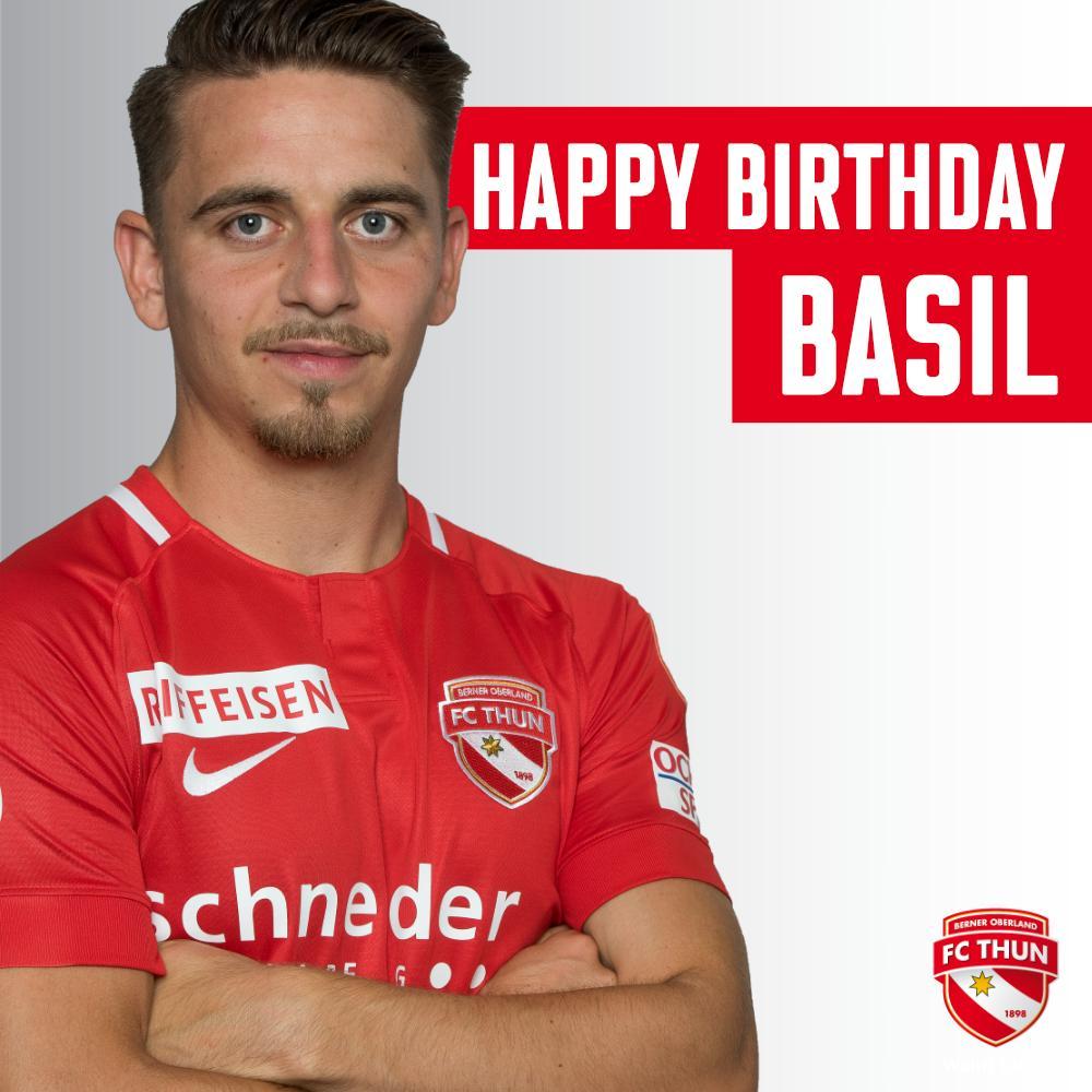 Herzlichen Glückwunsch zum 25. Geburtstag, Basil Stillhart! 🎉🎁 #wahriliebi #happybirthday