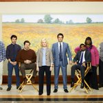 """Image for the Tweet beginning: """"Parks and Recreation"""" cast reunites"""