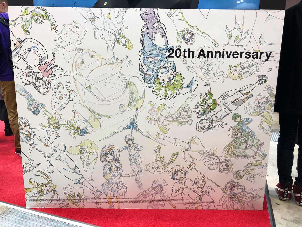 BONES celebrating 20+ years at #AnimeJapan 🎉🎉