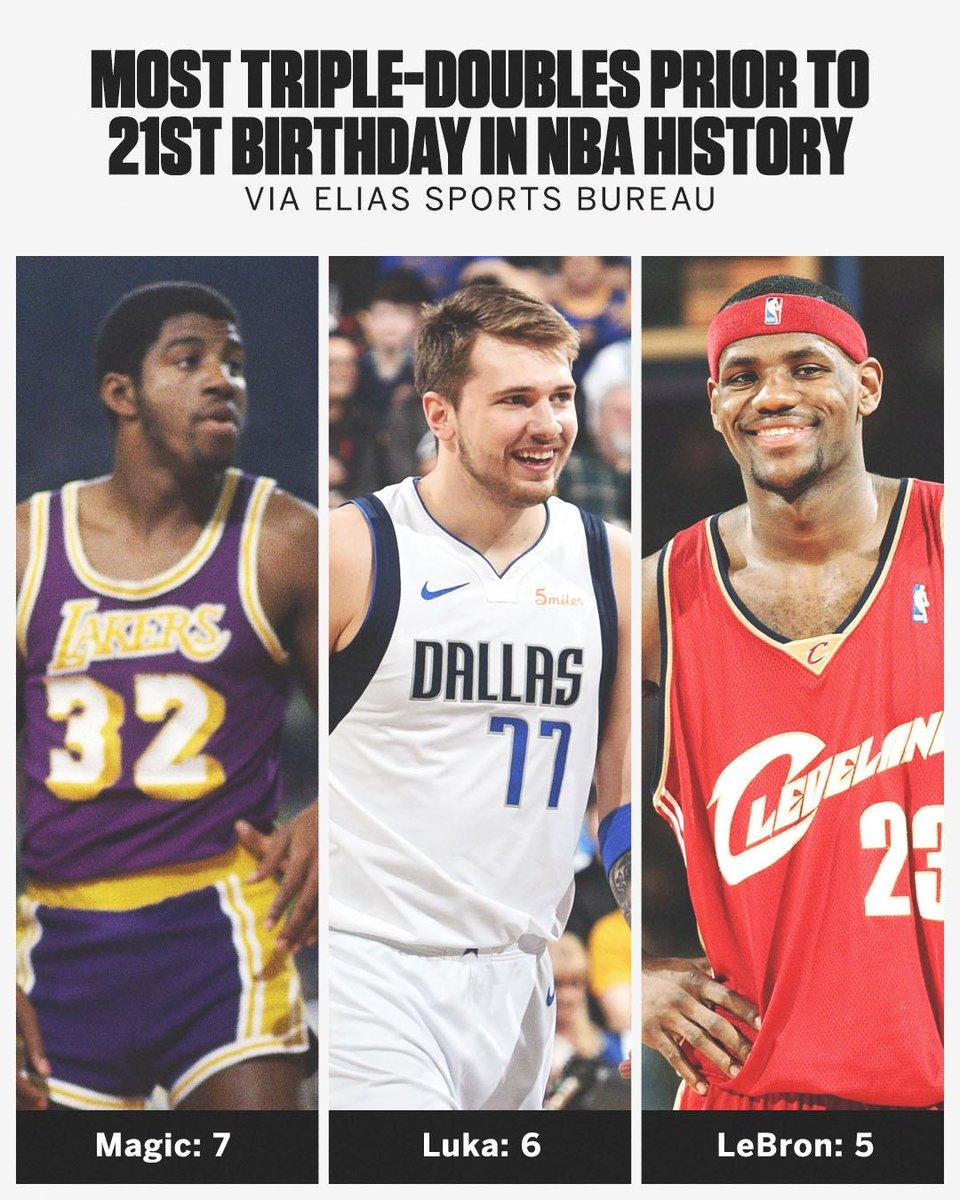 Luka's making history 💪 (via @EliasSports)